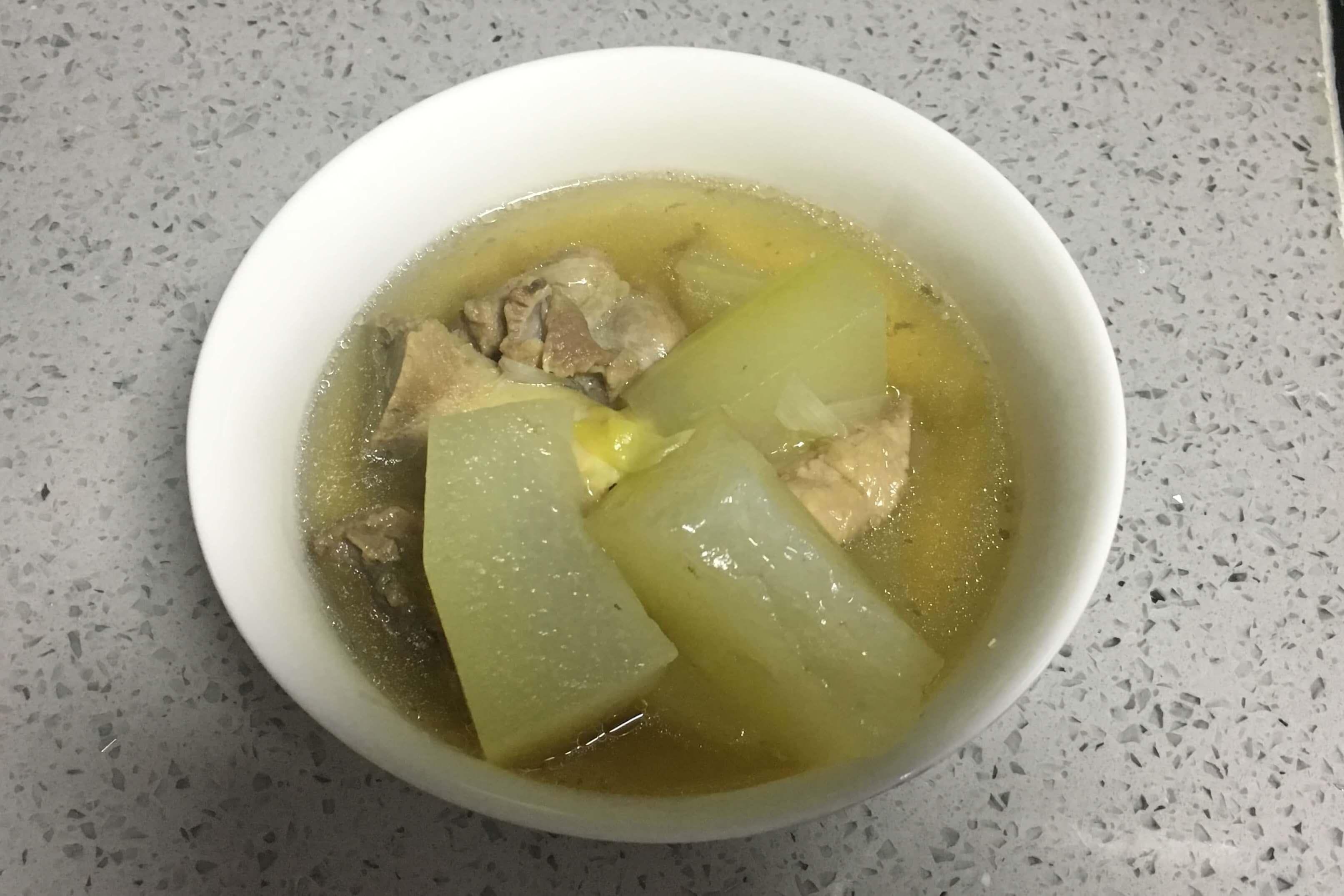 好吃的冬瓜排骨汤小白也能做