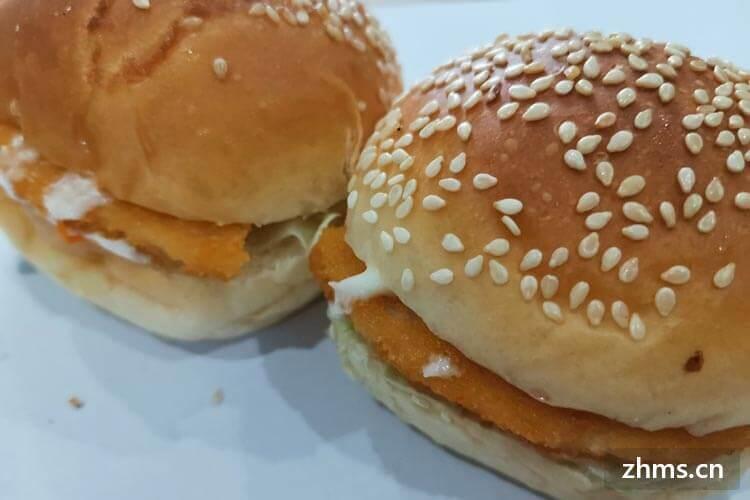 乐美斯炸鸡汉堡相似图片2