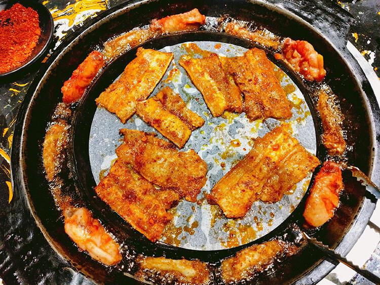 盘盘考第一也不能盘盘吃烤肉,因为要长膘!