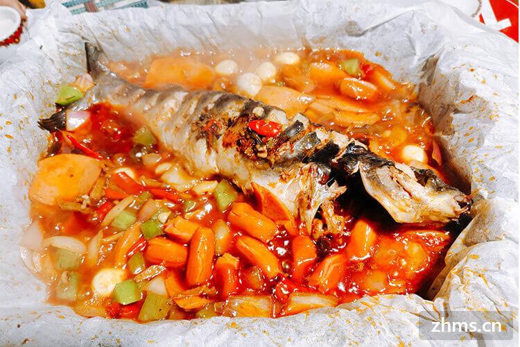 江湖纸包鱼烤鱼相似图