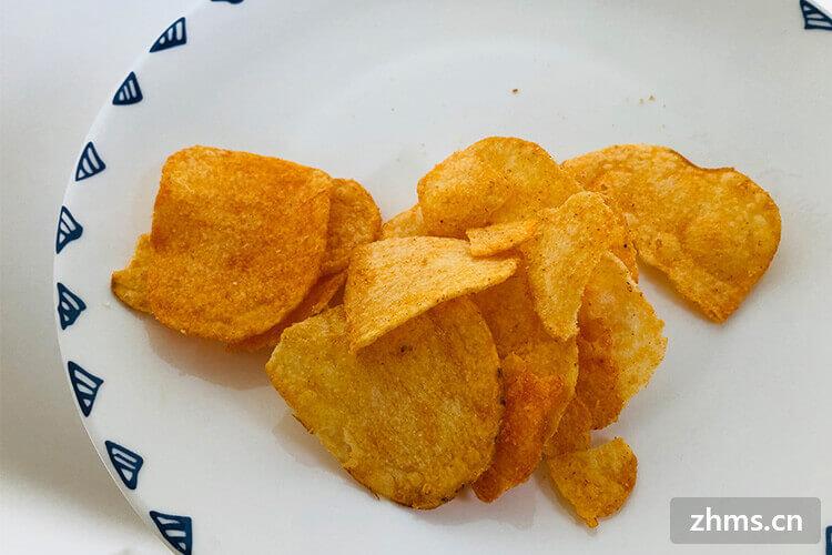 好吃的薯片