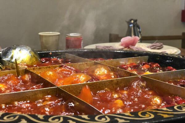 這個冬天山城小龍女火鍋,火辣給你,溫暖也給你