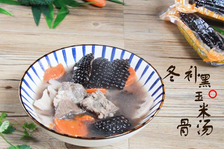 冬天对我的存在意义,就是煲汤变得更好喝了——冬补黑玉米骨汤