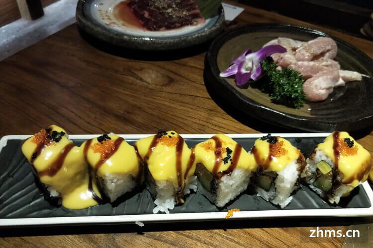 今日寿司加盟利润有多少,这一行业有前景吗?