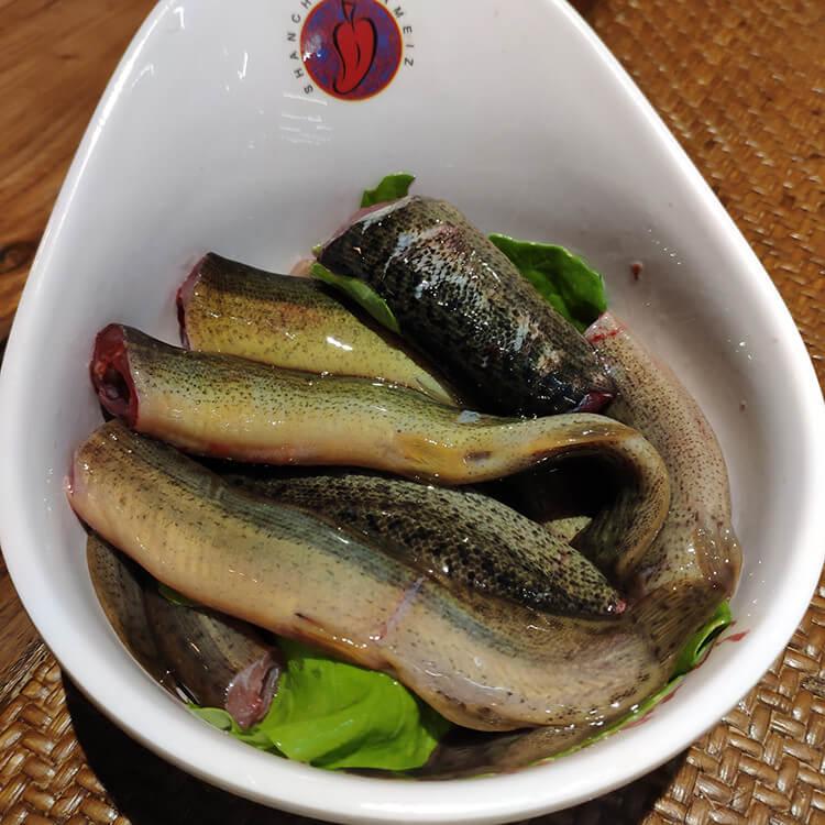 这家火锅店的鲜汤排骨锅底比红汤锅底更受欢迎,不仅有鲜汤还有嫩排骨