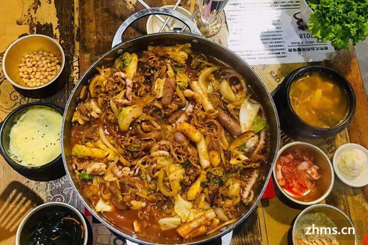 御膳韩国年糕火锅相似图片3