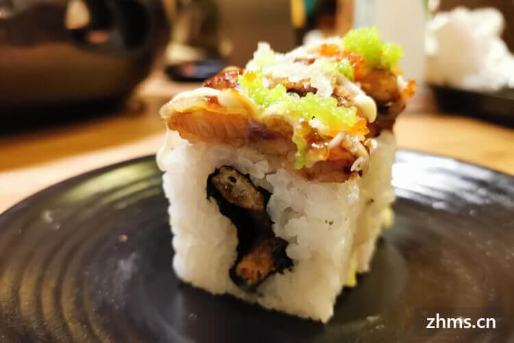 南宁文风卷美式寿司加盟吗