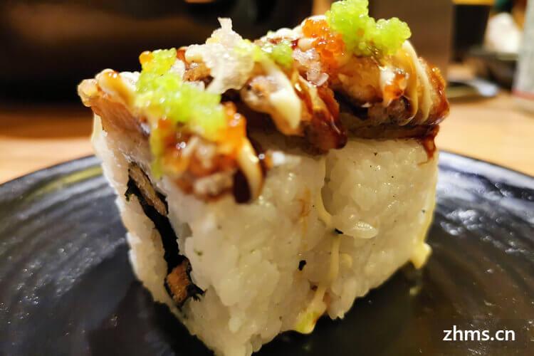 外卖加盟寿司店全国十强有哪些?收入利润相当好!!