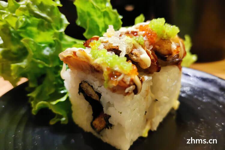 寿司加盟费招商加盟需要多少