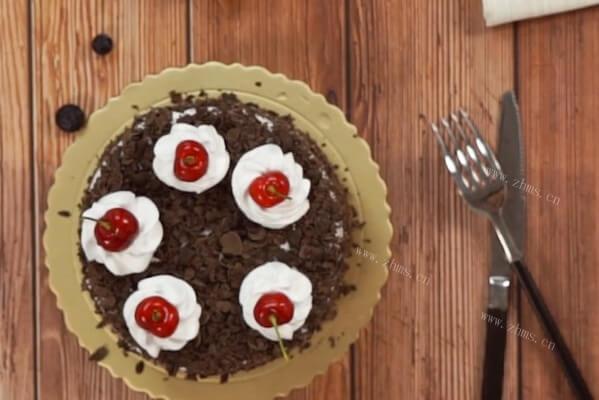 做蛋糕——黑森林蛋糕