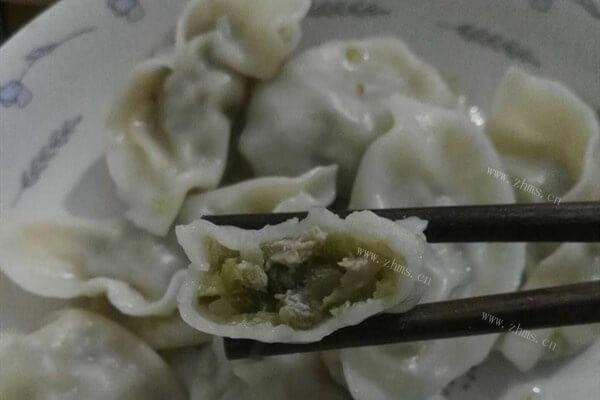 芹菜馅饺子的做法
