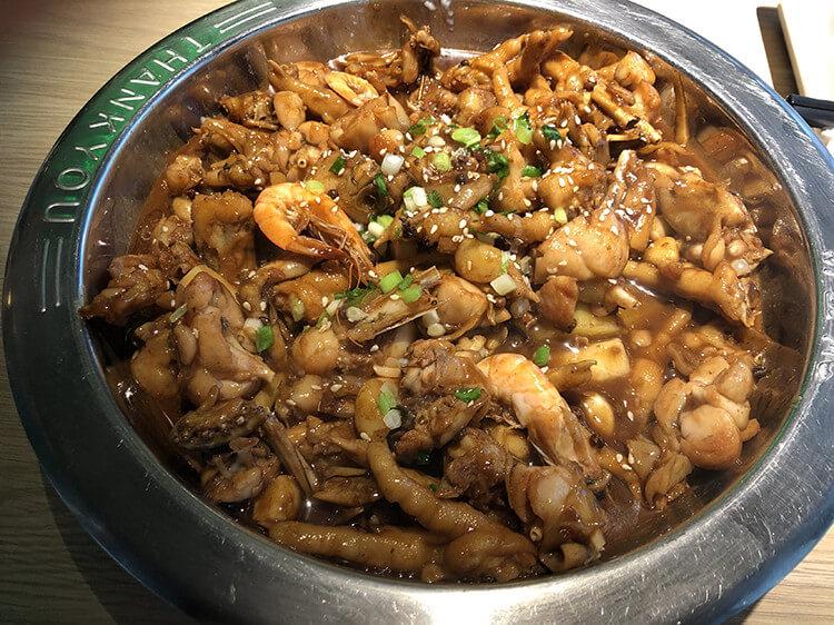 宿迁性价比最高的肉蟹煲,螃蟹、大虾、鸡爪一锅端也就百来块