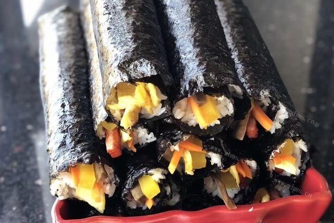 韩国寿司的做法,寿司怎么做好吃又简单