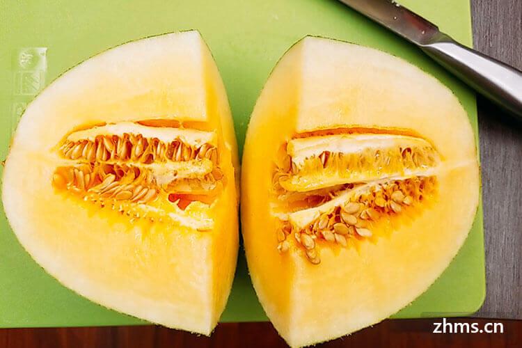 美善品哈密瓜汁的做法是怎样的?