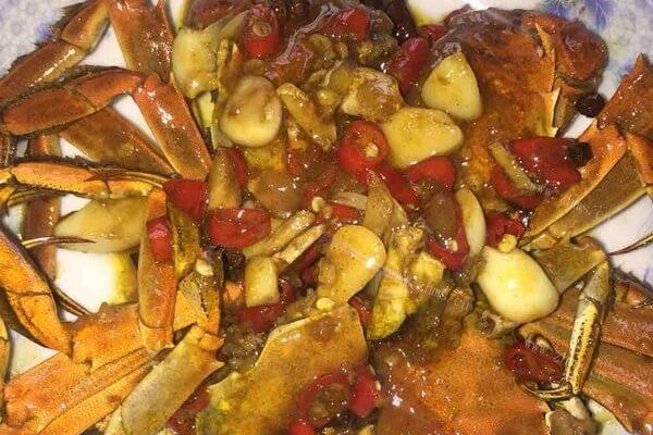 红烧螃蟹的做法