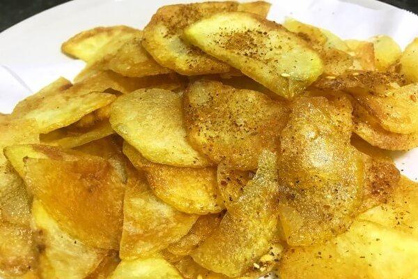 家常炸土豆片的简易做法