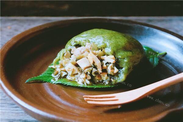 绝不能丢失的传统艾草团,每年清明都要吃
