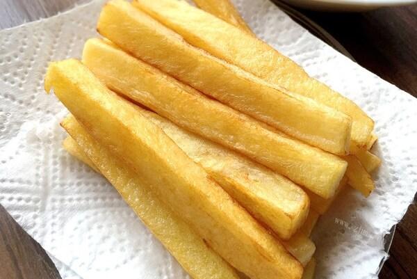 超经典的马铃薯做法——炸薯条,大人小孩都喜欢