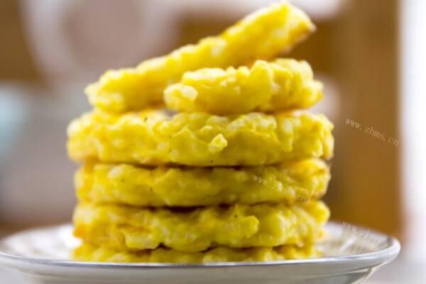 南瓜的吃法你知道哪些?软糯的烤南瓜饼试过吗,香甜可口很是好吃