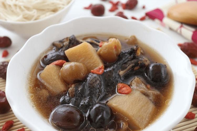 山药乌鸡腿绍兴煲汤,在家就能喝到的地方特色汤煲