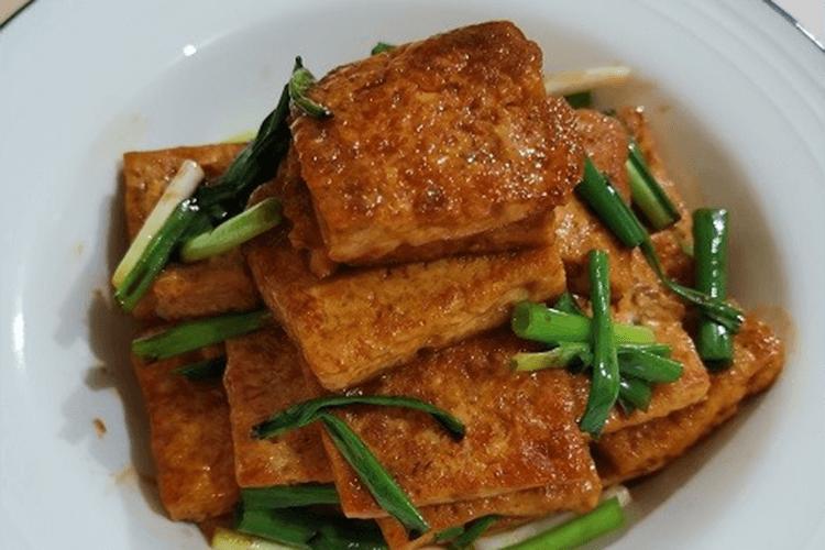照燒豆腐的做法