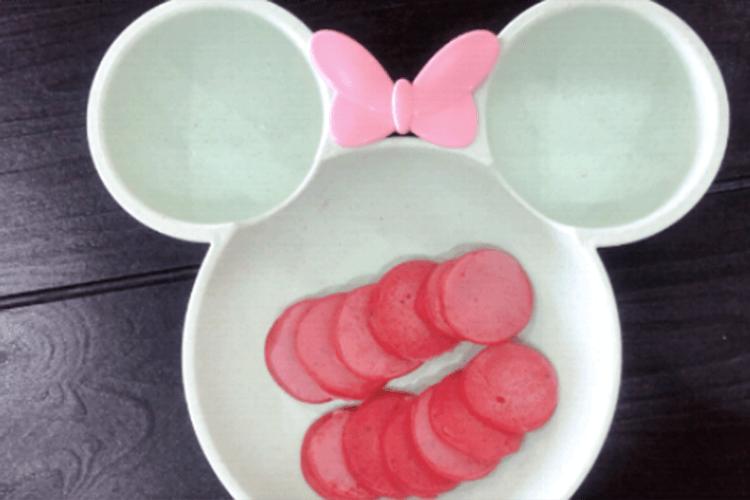 有助消化的美食——火龙果小松饼