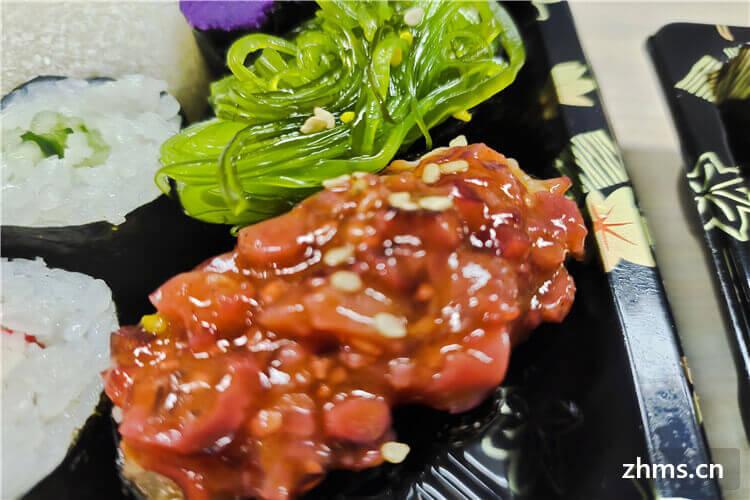 寿司加盟店一个月能挣多少钱