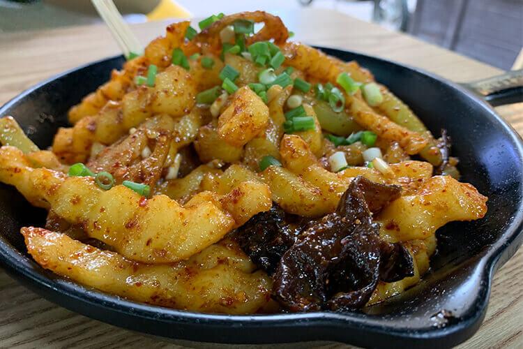 经常买的油炸土豆块,油炸土豆块怎么炸?