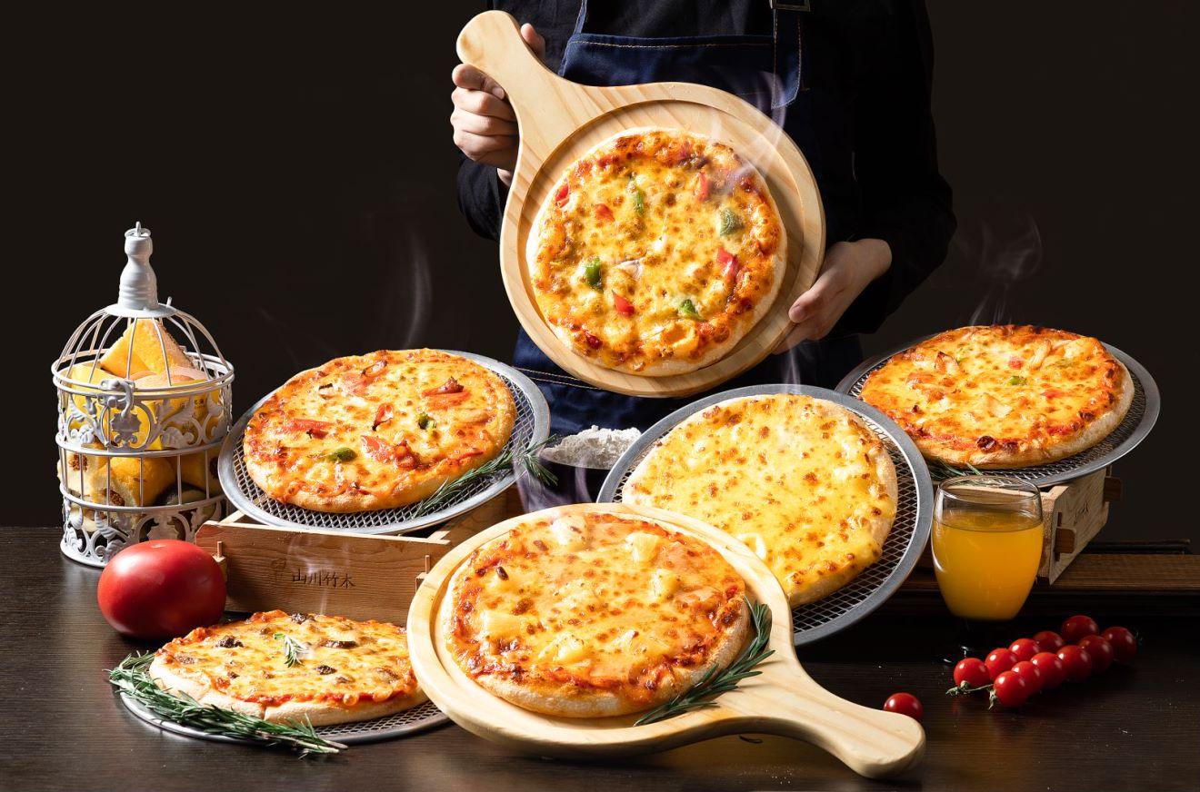 【9.9元手工披萨】打卡站披萨图
