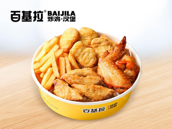 百基拉炸鸡汉堡图4