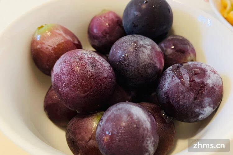 葡萄要摘下来一颗颗洗吗