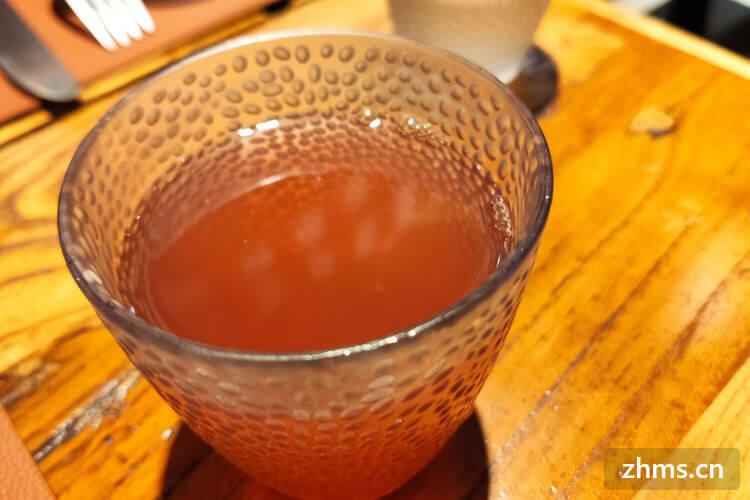 麦茶饮品店加盟多少