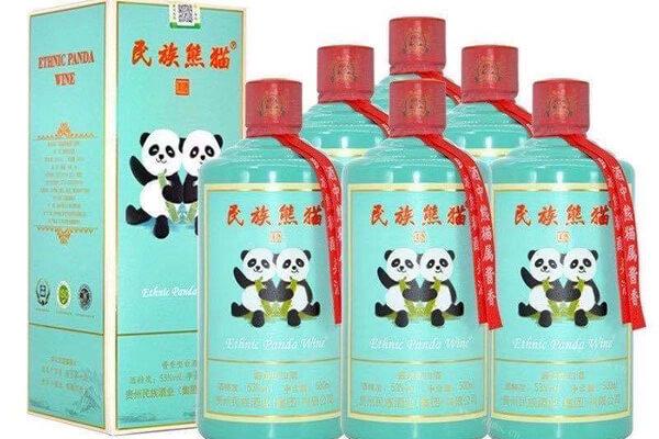 民族熊猫美酒图7