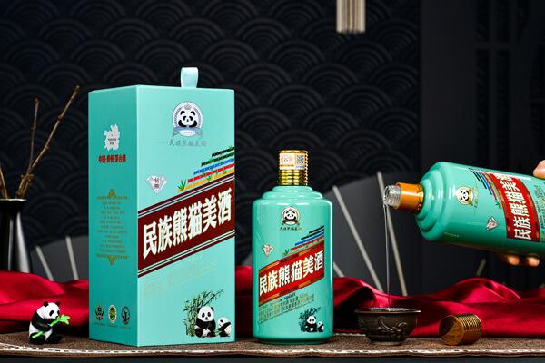 民族熊猫美酒图11