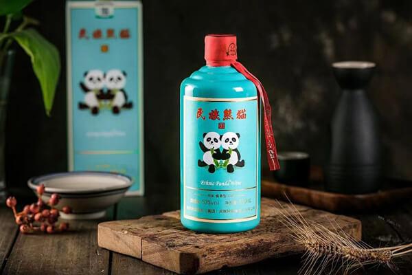 民族熊猫美酒图8