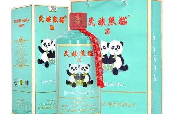民族熊猫美酒图4