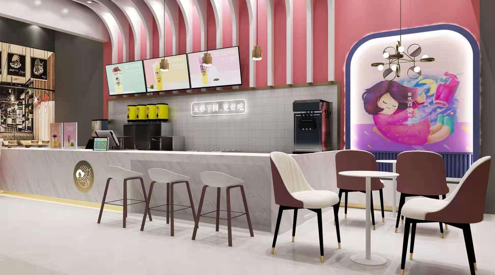 成都市火车南站撞色奶茶店是不是可以加盟的