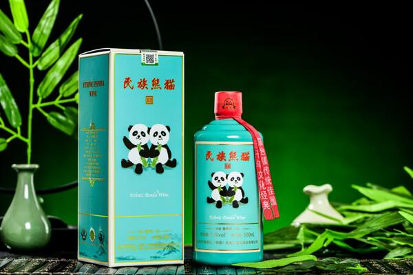 民族熊猫美酒图15