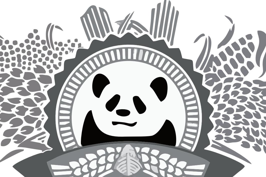 民族熊猫美酒
