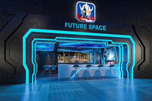 FUTURE SPACE/未来空间汉堡店图