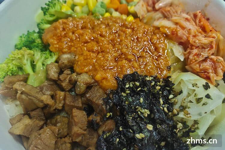 和朋友要合伙开一家韩式拌饭,请问全州拌饭加盟费用多少?