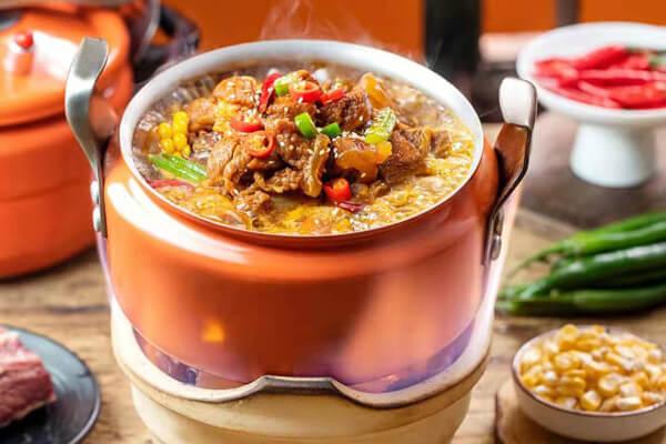 优溪味高压锅焖菜图