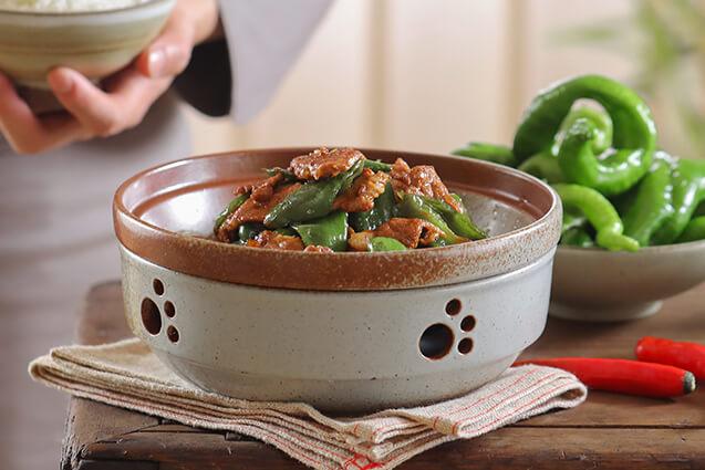 米一仙小碗菜图