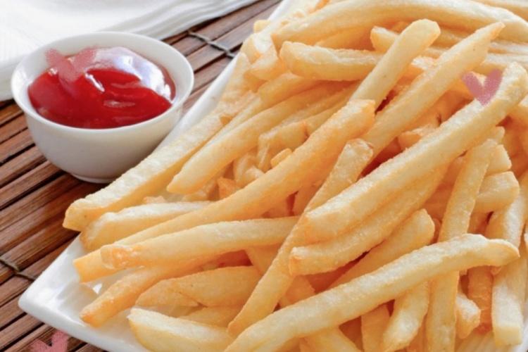 肯德基炸薯条+自制番茄酱