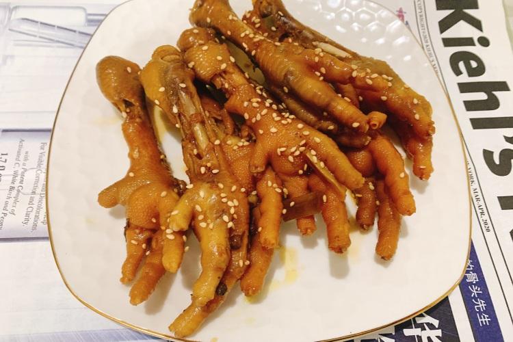 史上最簡單的電飯煲雞爪