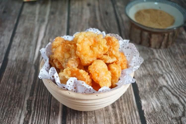 简单家常菜——炸虾仁