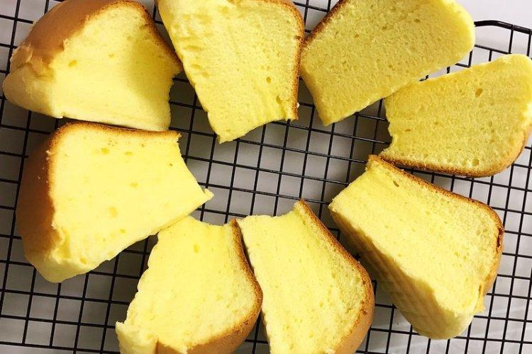 家庭自制的电饭煲蛋糕,跟店铺里卖的没区别