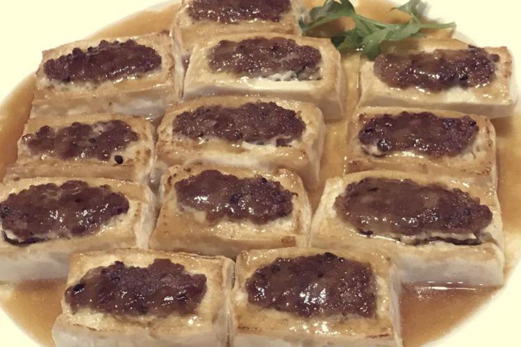 鮮嫩可口的東江釀豆腐,還不趕緊學起來