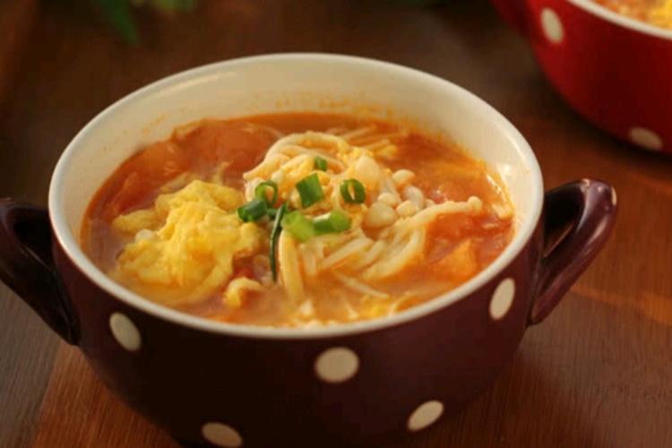 番茄蛋汤,香滑浓郁好味道