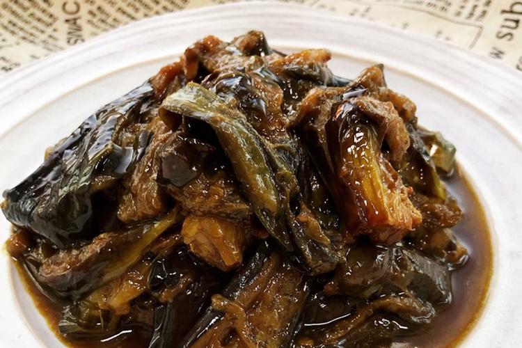 从小吃到大永远吃不腻的东北家常菜,酱烧茄子